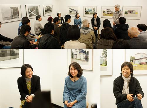 画面左から 榎本さん、山内さん、坂本さん