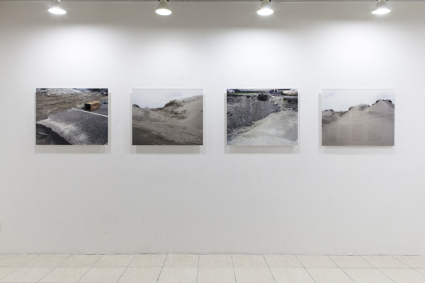 榎本千賀子 展示風景の画像